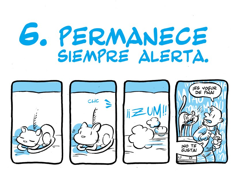 comics de gatos