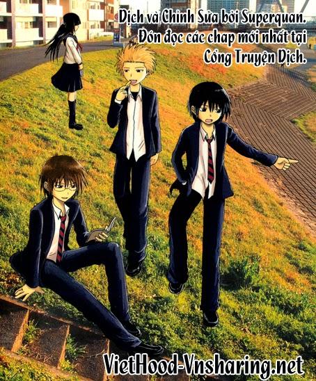 Danshi Koukousei no Nichijou Chap 93 - Next Chap 94