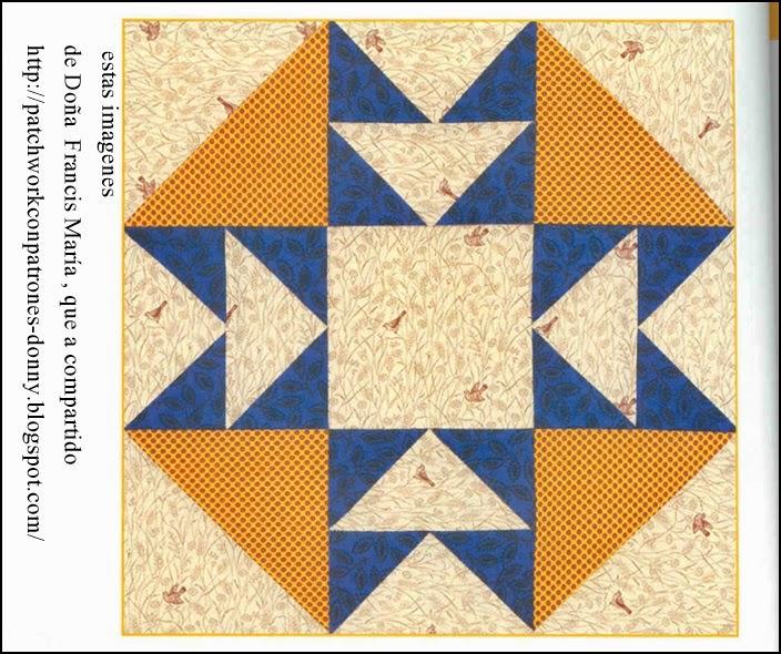 Patchwork solo patrones todo gratis t cnicas en - Patrones de casas de patchwork gratis ...