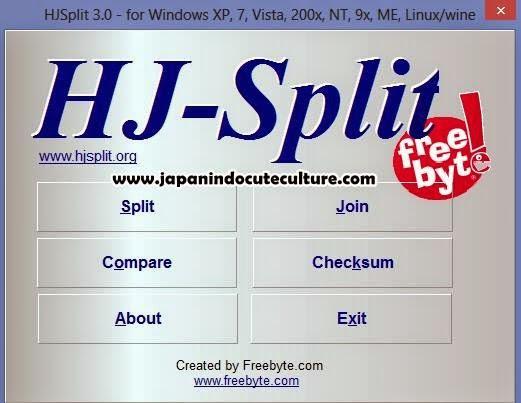 Download Software HjSplit dan Cara Menggunakannya