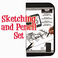 Drawing and Sketching Pencil Set In Zipped Case by Royal & Langnickel  £7.32