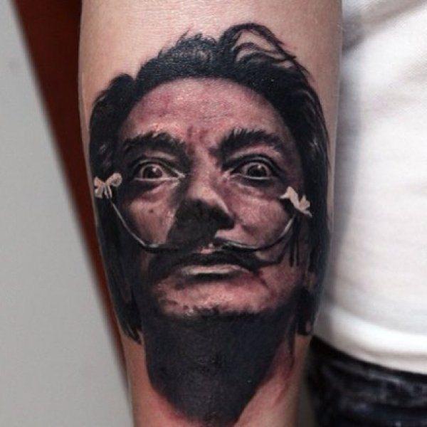 Tatuagem Realista de Valentina Ryabova