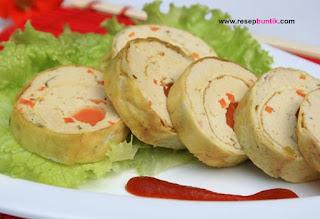 resep masakan laut yaitu Resep Menu Rolade Seafood Yang Enak Dan Lezat, resep rolade seafood, manfaat makan masakan laut