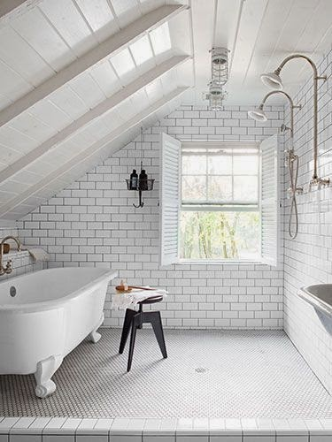 Baños Con Ducha Abierta: Interiores & Arquitectura: 25 Increíbles Ideas Para Una Ducha Abierta