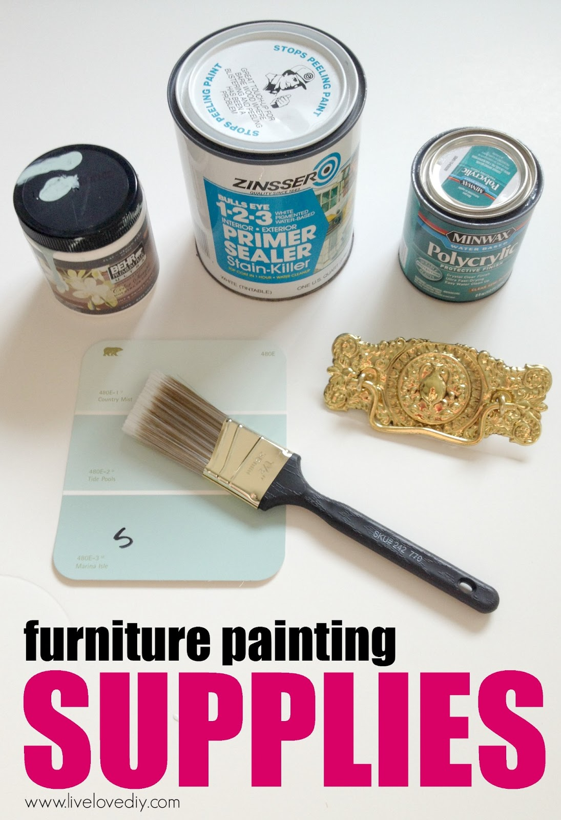 How to paint laminate furniture in 3 easy steps  Amazing tips. LiveLoveDIY  How To Paint Laminate Furniture in 3 Easy Steps