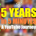 5 Years in 5 Minutes: A YouTube Journey