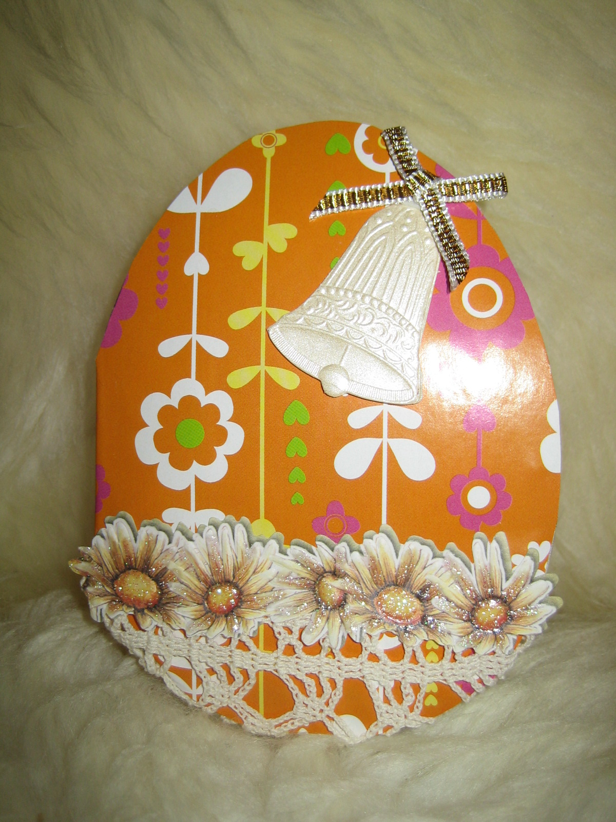 Пасхальные открытки в виде яйца 43