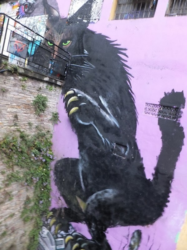 espagne bilbao vieille ville street art