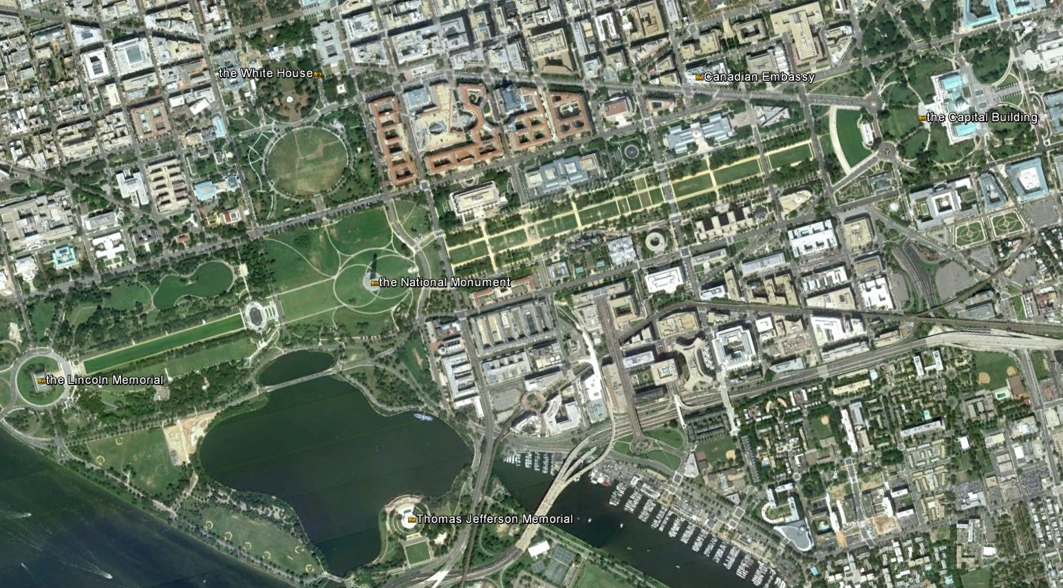 Art Now And Then Pierre Charles LEnfant - Washington dc mall map pdf