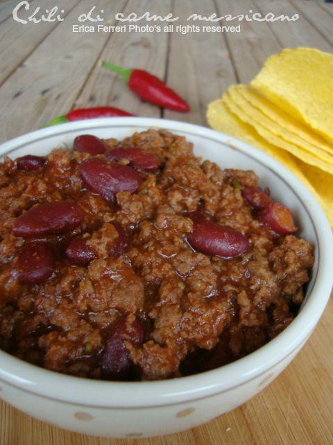 Chili di carne e fagioli messicano