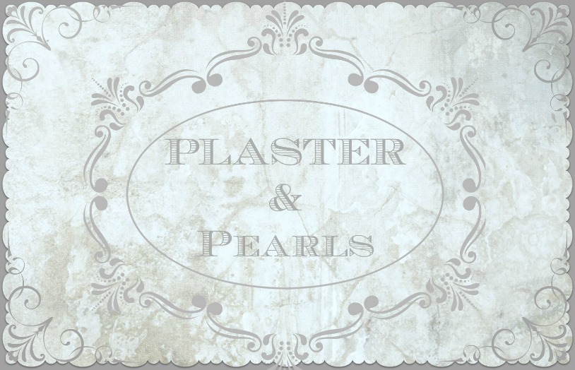 Plaster and Pearls Wedding Art
