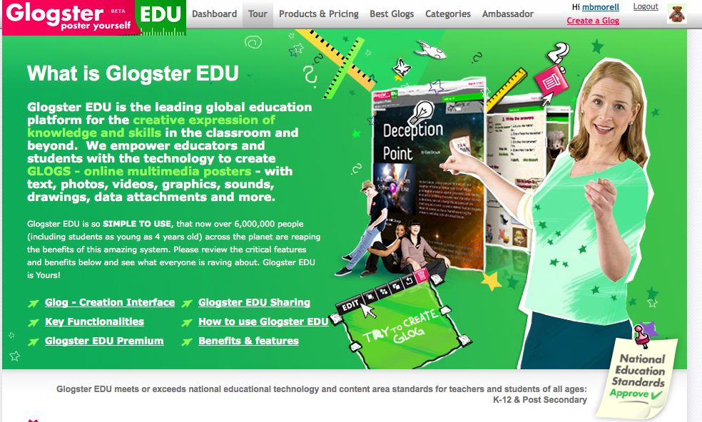 Glogster Multimedia Posters  Online Educational Content