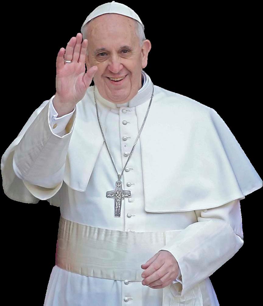 Em Comunhão o Papa Francisco