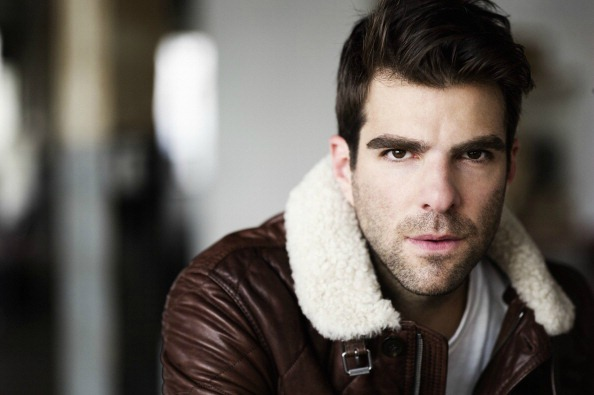 zachary quinto is gay spock star trek sylar heroes nbc Mature woman in white hat and glasses showing thumb up.