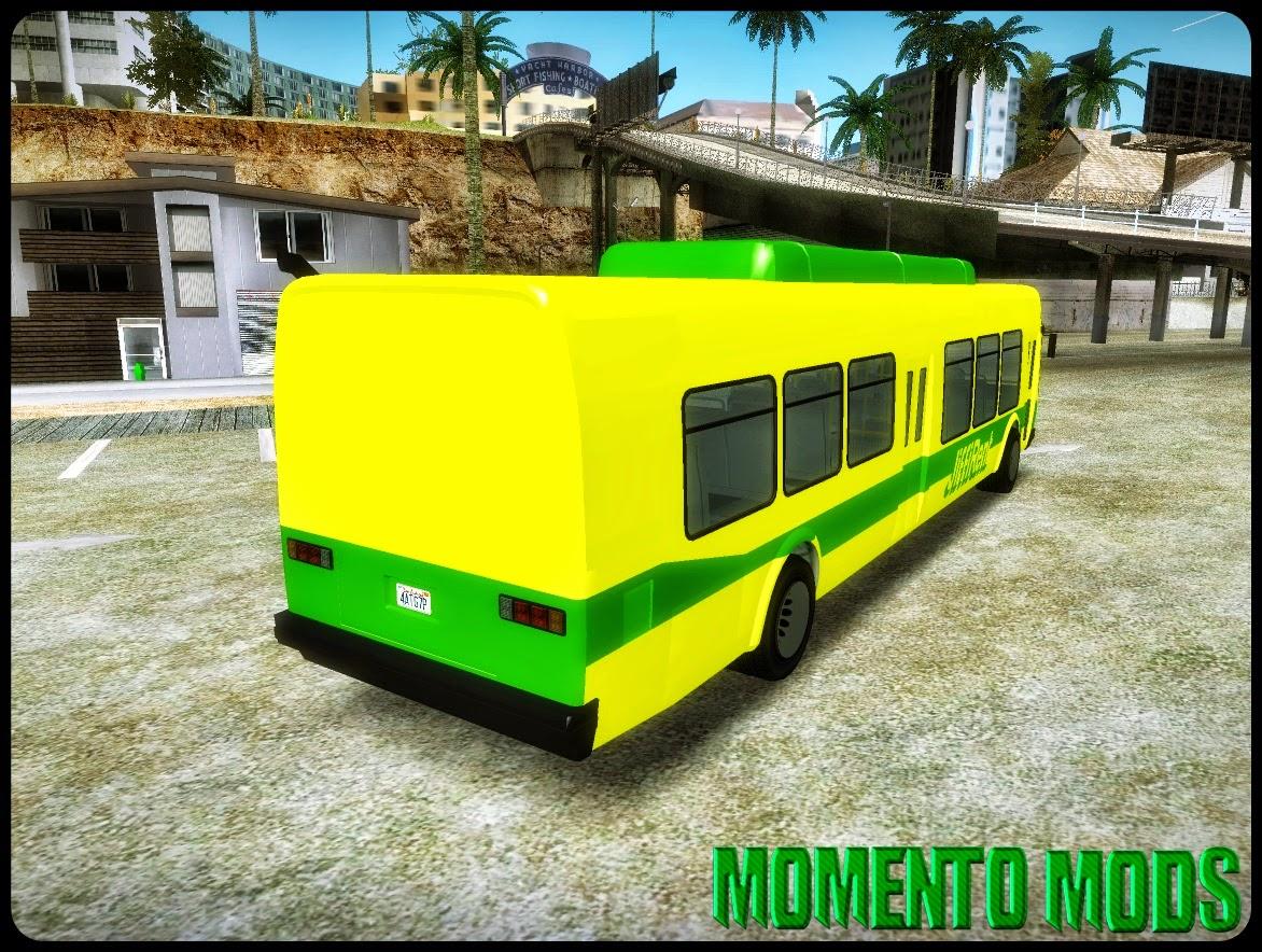 GTA SA - Ônibus Do Aeroporto Convertido Do GTA V