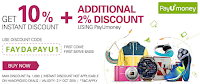 Ebay Get 10% instant discount & Additional 2% Discount  for Using Payumoney : Buytoearn