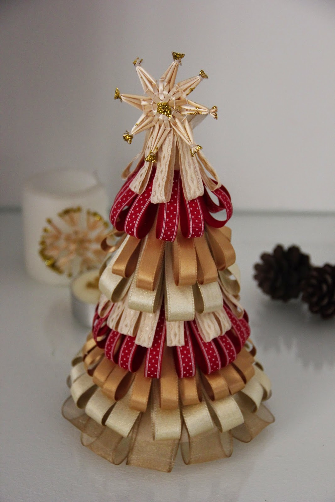 Pegamento para porexpan aprender manualidades es - Cintas navidad para arbol ...