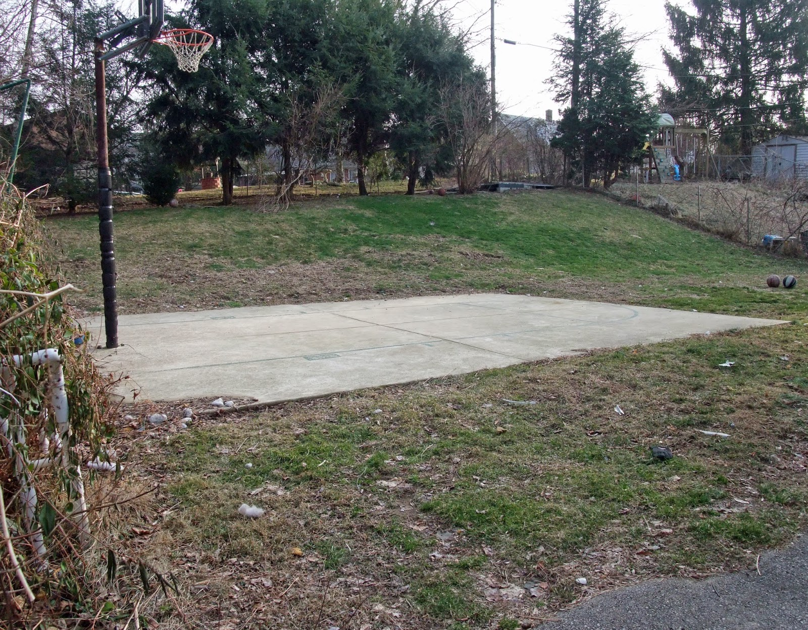 Penn state extension philadelphia master gardeners for Small basketball court