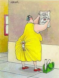 hilarious dog cartoon fat woman image
