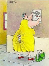 hilarious dog cartoon fat woman image