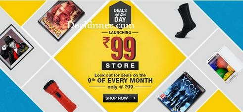 FlipKart Rs. 99 Store (Only for Today)