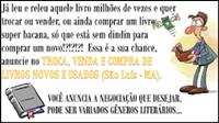 Troca, compra e venda de livros novos ou usados (São Luís - MA)
