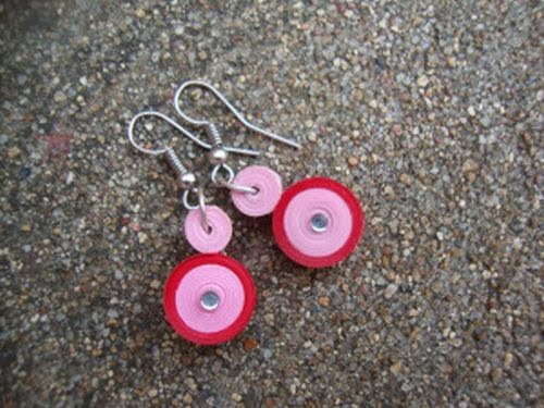 Quilling Paper Jewelry DIY