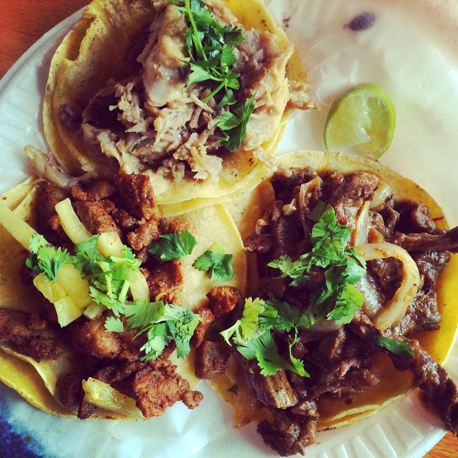 Tacos at Taco n Sabor