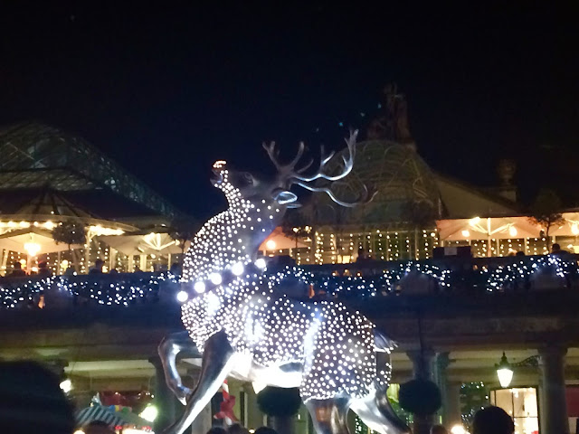 Christmas Reindeer at Covent Garden, London