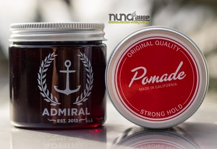 Tutorial cara pemakaian pomade admiral stronge hold