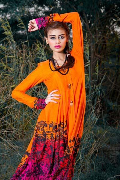 Annus Abrar Winter dresses 2013 For Women