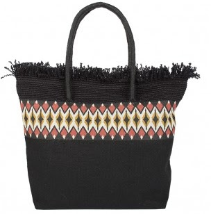 Coco Bay Pia Rossini Black Argento Bag