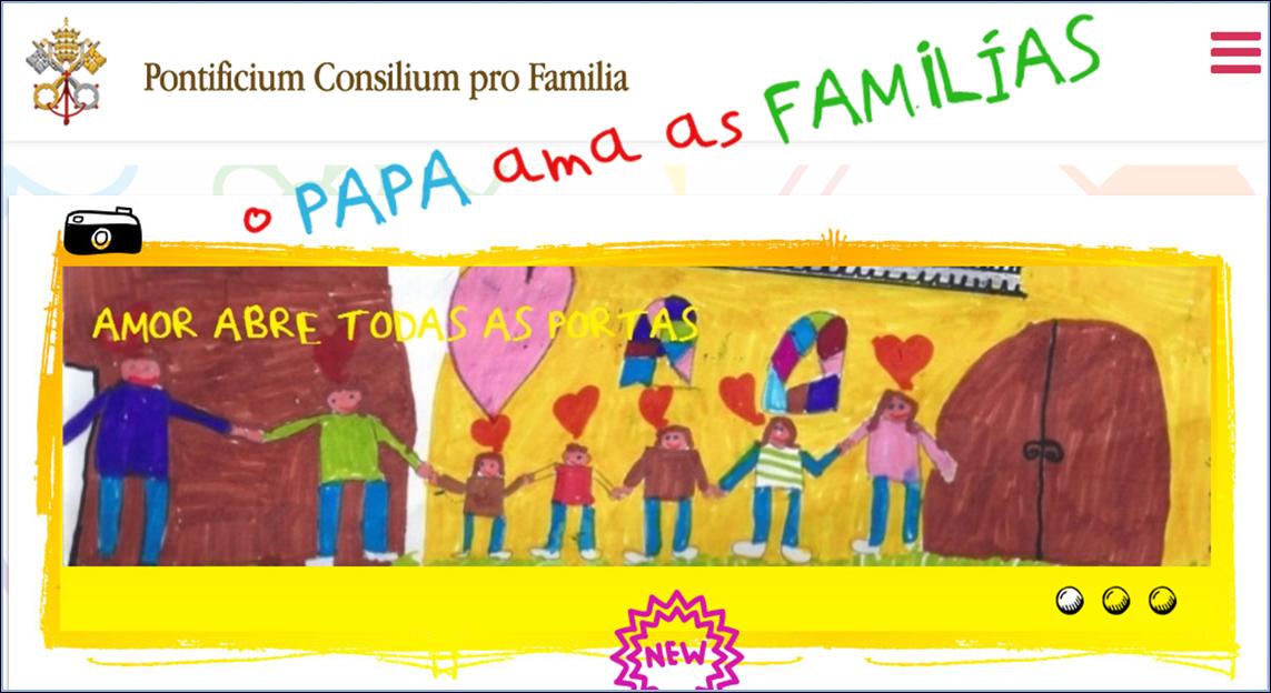 Site do Vaticano para as crianças e pais