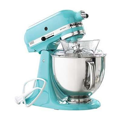 The art of cooking kitchenaid artisan stand mixer ice blue - Kitchenaid mixer bayleaf ...
