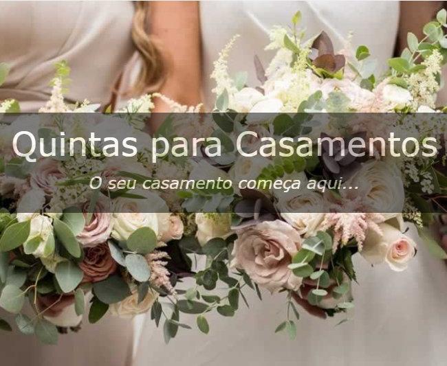 Quintas para casamentos...