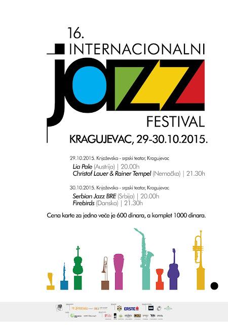 16. Internacionalni Jazz Festival Kragujevac