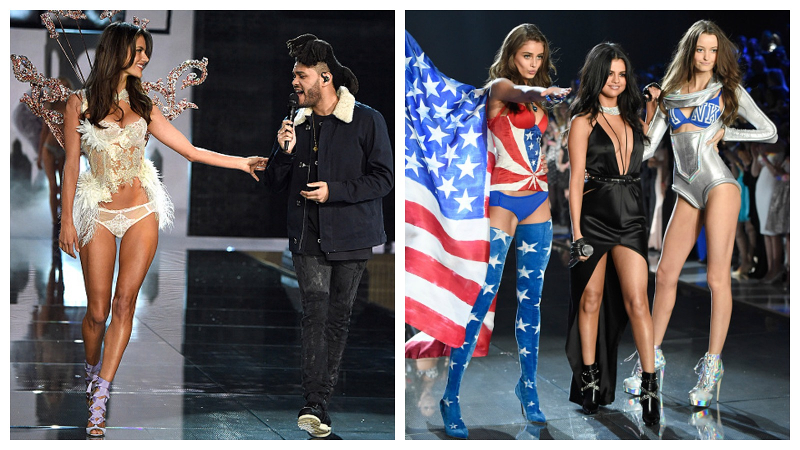 the weeknd victoria's secret fashion show 2015