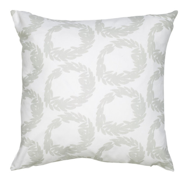 COCOCOZY Decorative Pillow in Rive in Mist Gray