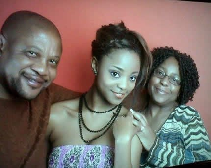 Big Brother Mzansi's Loko shared a photo of her and her dear parents