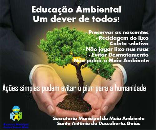 Campanha Educação Ambiental