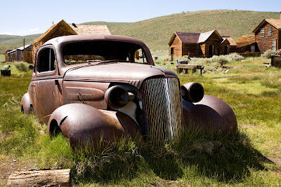Abandoned old Chevy, Bodie
