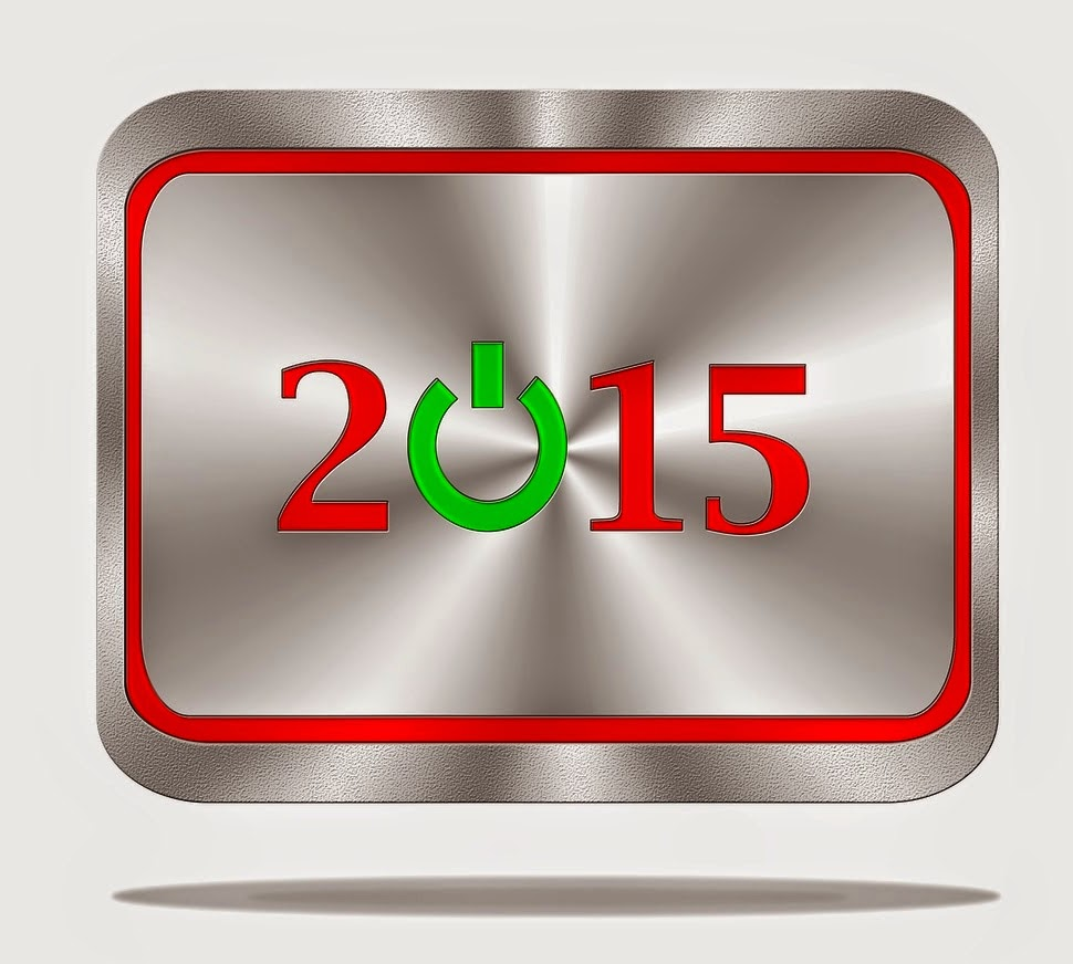 Happy New Year 2015 Digital Wallpaper