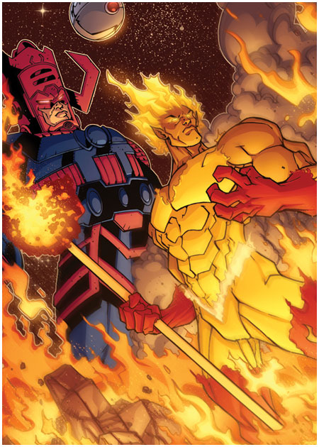 Firelord (Marvel Comics) Character Review - With Galactus
