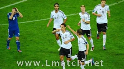 Germany Greece 4-2 All goals Full HD