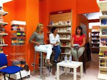 Brindisi, 7 settembre 2013, Libreria Liberamente, con Flavia Montanaro e Paola Pioppi