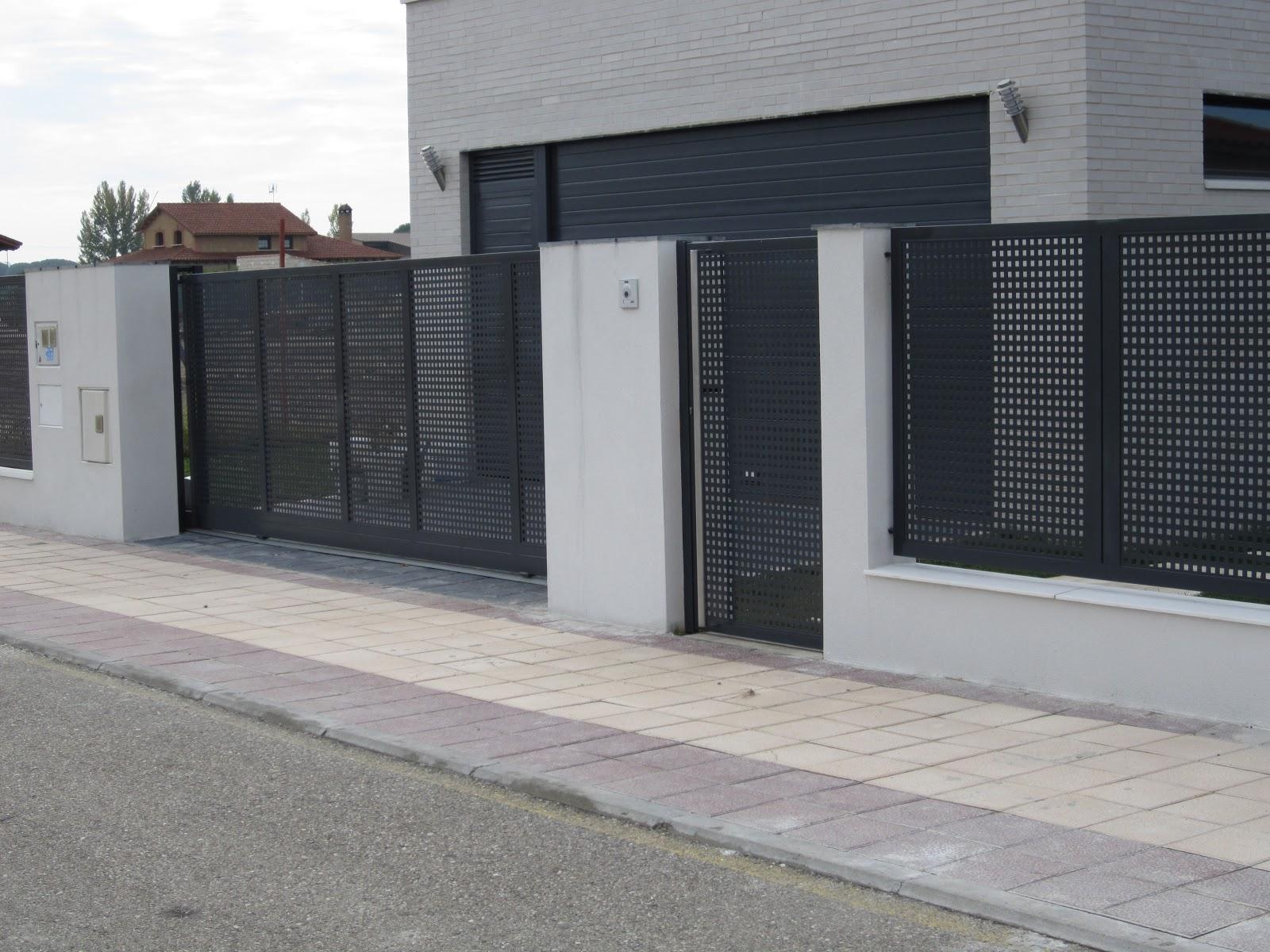 Vallas para chalets free puertas y vallas para fincas - Puertas para cerramientos ...