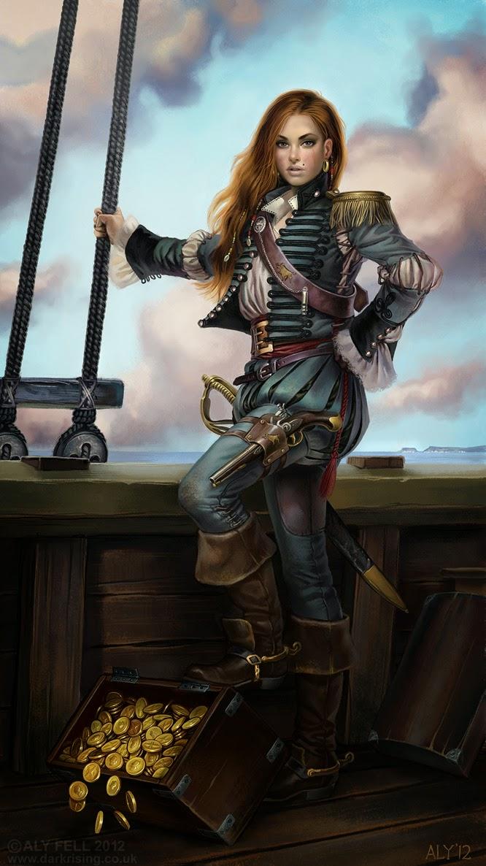 Female pirate lesbian foto 14