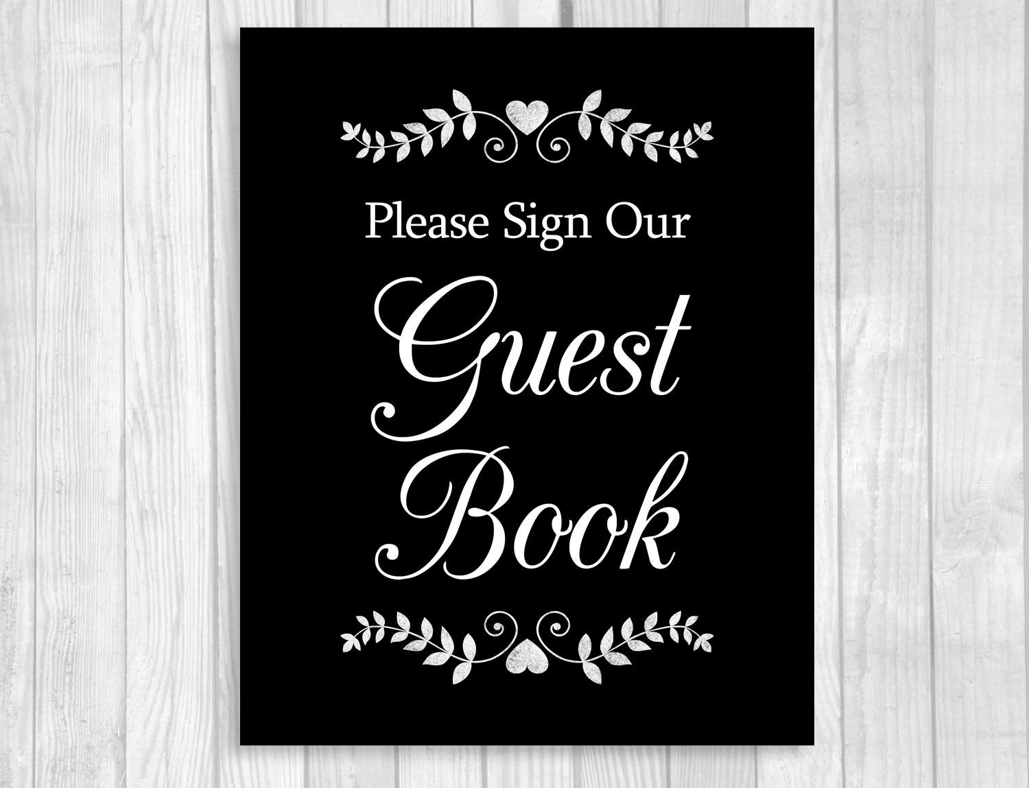 This is a photo of Playful Please Sign Our Guestbook Free Printable