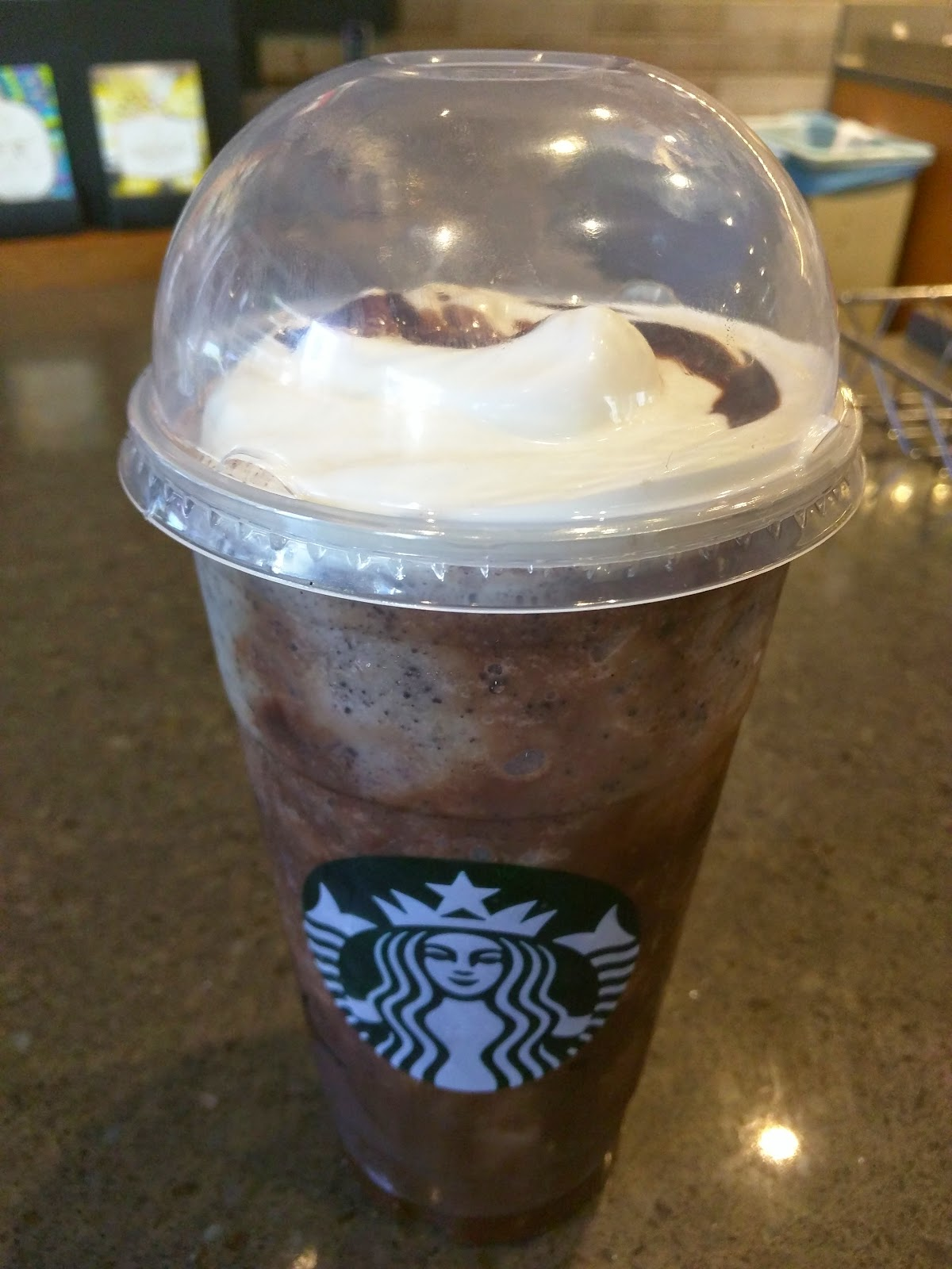 Starbucks Frappuccinos | Julie's Dining Club