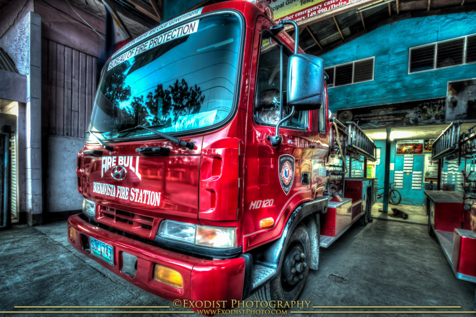 HDR Firetruck © Exodist Photography